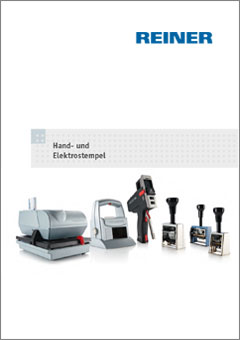 REINER Elektrostempel Katalog