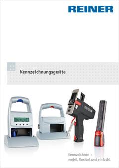 REINER Kennzeichnungsgeräte Katalog