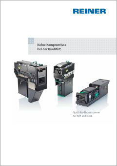 REINER Einbauscanner Katalog