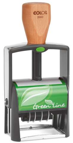 Colop Classic 2660-Dater Green Line