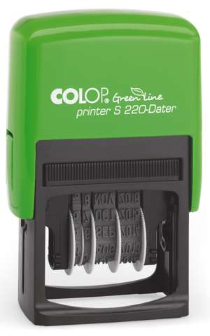 Colop Printer S220-Dater Green Line