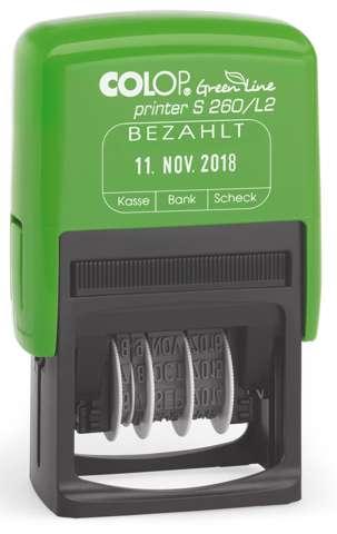 Colop Printer S260L2 Green Line