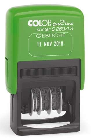 Colop Printer S260L3 Green Line