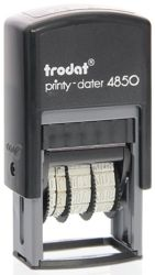 Datumstempel mit Lagertext Trodat Printy 4850/L1