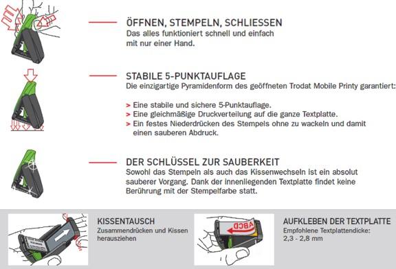 Mobile Marker Trodat Printy
