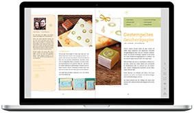 E-Book Basteln mit Stempeln