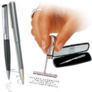 Kugelschreiber mit Gutschein