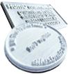 Stempelplatten - Ersatztextplatten für Stempel