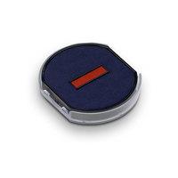 Ersatzstempelkissen rund 6/46040/2 blau/rot für Trodat Printy 46140 Datumstempel