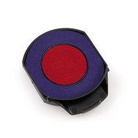 Ersatzstempelkissen rund 6/15/2R blau/rot für Trodat Professional 5215