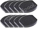Ersatzstempelkissen rund E/Pocket Stamp RQ25 - 10er Sparpack
