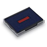 Ersatzstempelkissen 6/4927/2 für Trodat Printy Datumstempel 4727 - rot/blau
