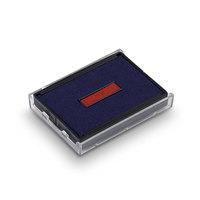Ersatzstempelkissen 6/4929/2 für Trodat Printy Datumstempel 4729 - rot/blau