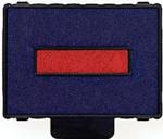 Ersatzstempelkissen 6/57/2 für Trodat Profess. Datumstempel 5470 - rot/blau