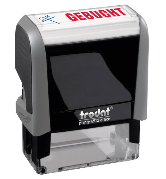 "Trodat Office Printy 4912 ""GEBUCHT"""