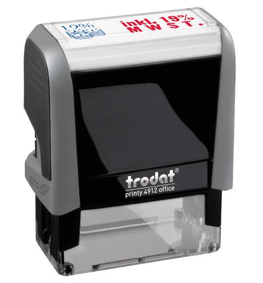 "Trodat Office Printy 4912 ""inkl. 19% MWST"""