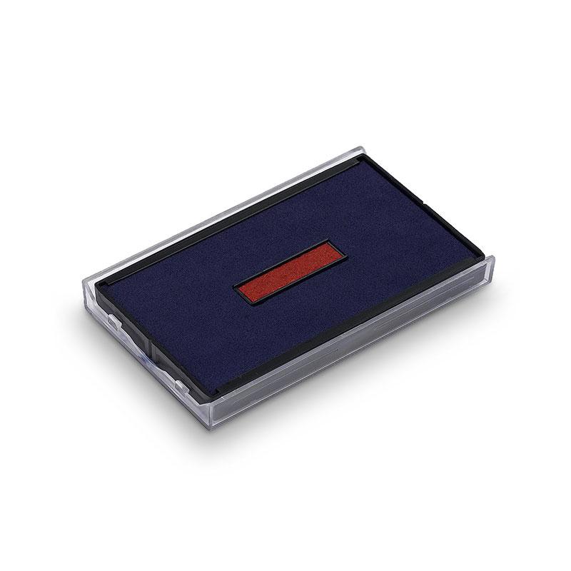 Ersatzstempelkissen 6/4926/2 für Trodat Printy Datumstempel 4726 - rot/blau