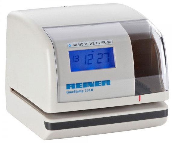 Elektrostempel REINER timeStamp 131 ohne Textplatte