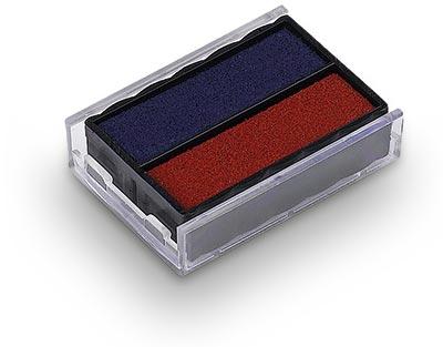 Ersatzstempelkissen E/10 für Colop Mini-Dater S 160 - rot/blau