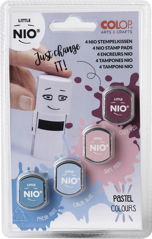 Little NIO Stempelkissen Pastel