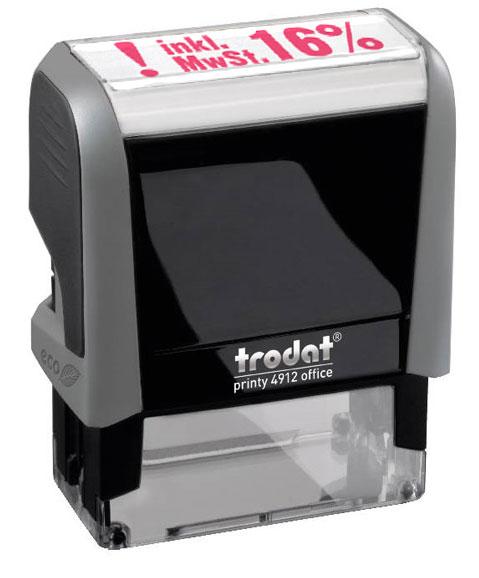 "Trodat Office Printy 4912 ""inkl. 16% MWST"""
