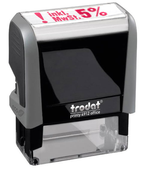 "Trodat Office Printy 4912 ""inkl. 5% MWST"""