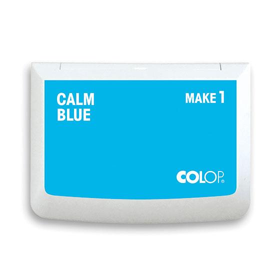Stempelkissen Colop Make 1 calm blue, Größe: 9 x 5 cm