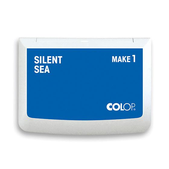 Stempelkissen Colop Make 1 silent sea, Größe: 9 x 5 cm