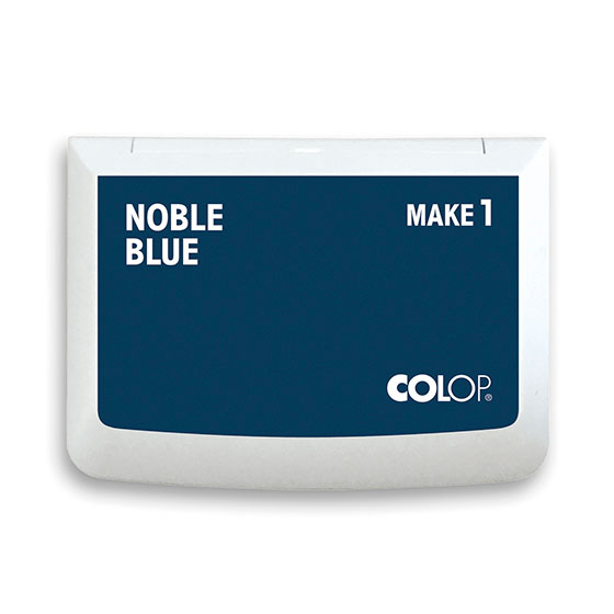 Stempelkissen Colop Make 1 noble blue, Größe: 9 x 5 cm