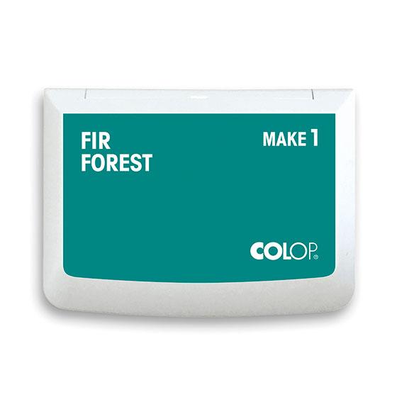 Stempelkissen Colop Make 1 fir forest, Größe: 9 x 5 cm