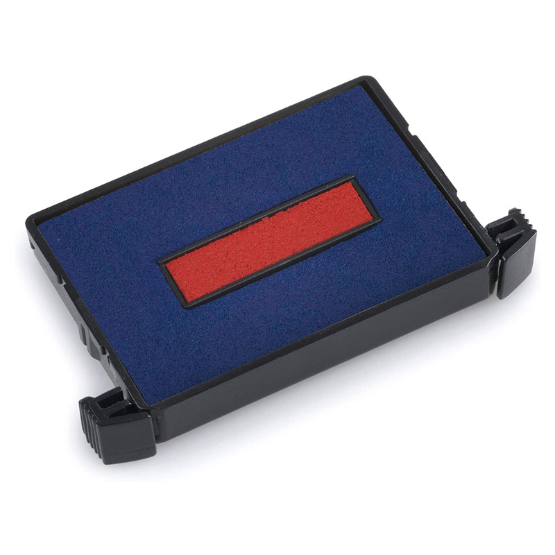 Ersatzstempelkissen 6/4750/2 für Trodat Printy 4750 - rot/blau