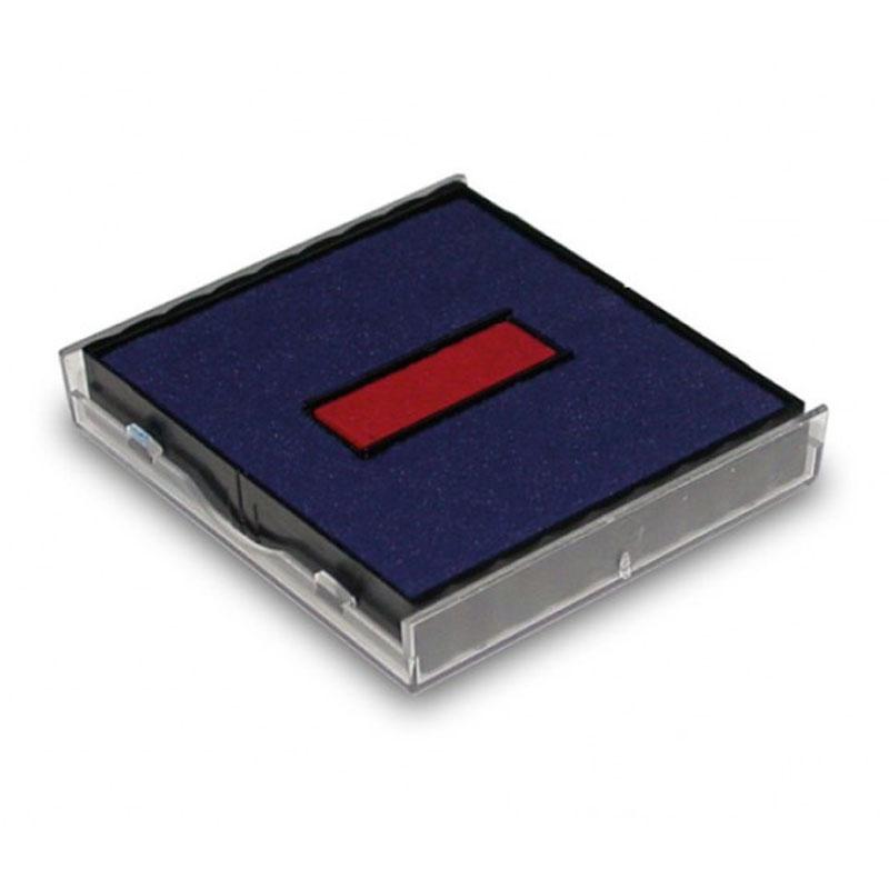 Ersatzstempelkissen 6/4924/2 für Trodat Printy Datumstempel 4724 - rot/blau