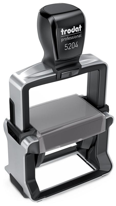 "Tabellenstempel Trodat Professional 5204 mit Lagertext ""Konto, Gegenkonto, Bezahlt am"""