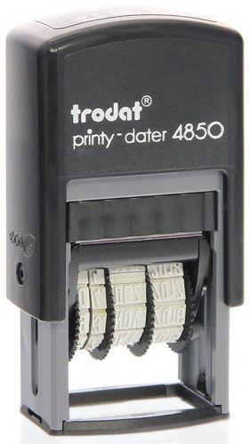 Datumstempel mit Text Trodat Printy 4850