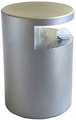 Klemmbefestigungen für Schilder Ø 20 mm für Plattenstärke 2-5 mm