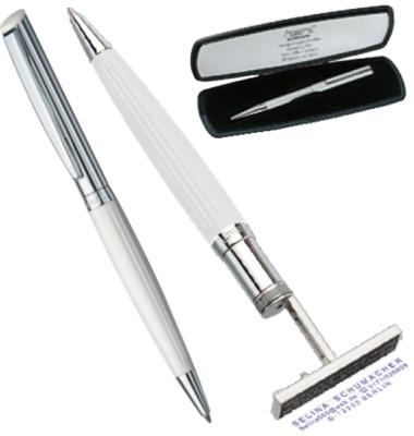 Kugelschreiberstempel Heri diagonal wave 6251