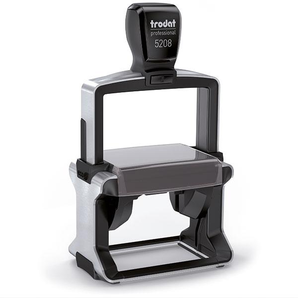 Tabellenstempel Trodat Professional 5208 4.0 mit Wunschtext Variante 1