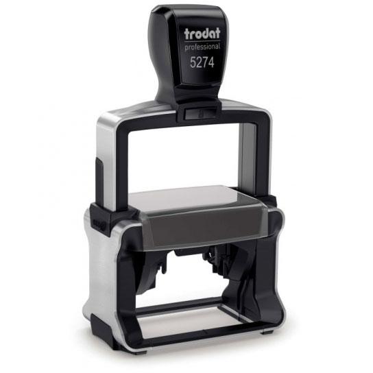Tabellenstempel Trodat Professional 5274 (alt 5207) mit Wunschtext Variante 2