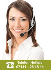 Unser Hotline-Service