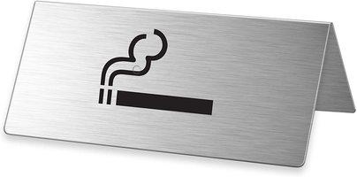 """Tischaufsteller """"Rauchen erlaubt"""" Format 85 x 35 mm"""