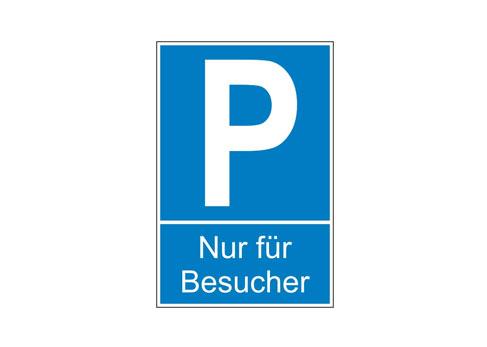 Parkplatzschilder bestellen