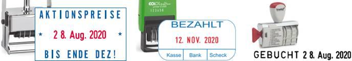 Datumstempel | stempelpool.de