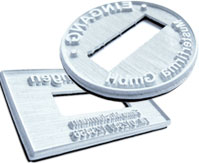 Ersatz-Textplatten für Trodat Printy Datumstempel
