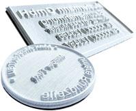 Ersatz-Textplatten für Colop Pocket Stamp