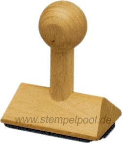 Ohm Holzstempel Stempel aus Holz 1