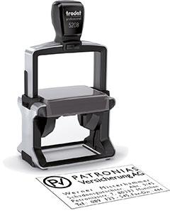 Erst gestalten - dann passendes Stempel-Gerät wählen