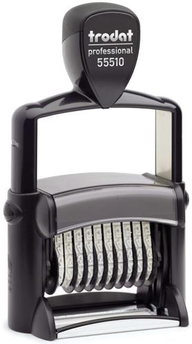 Ziffernbanddrehstempel Trodat Professional 55510