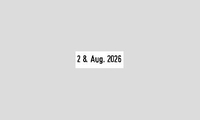 Datumstempel mit Text Trodat Professional 54120