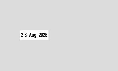 Datumstempel mit Text Trodat Professional 54120 Datum links