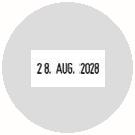 Datumstempel mit Text Trodat Printy 46140